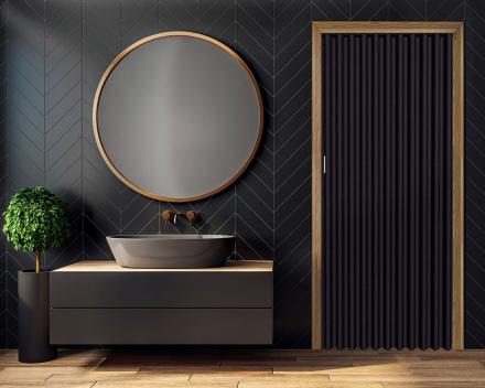 Photo Porte pliante salle de bain