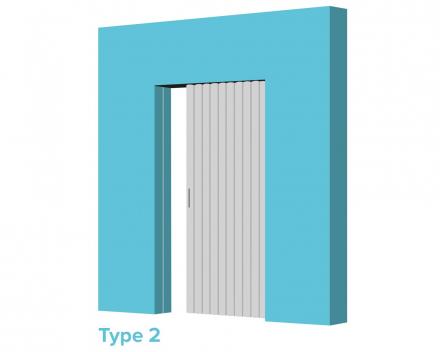 Aporta vouwdeur type 2