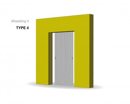 Aporta vouwdeur type 4