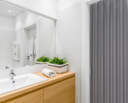 Foto Aporta_vouwdeur badkamer