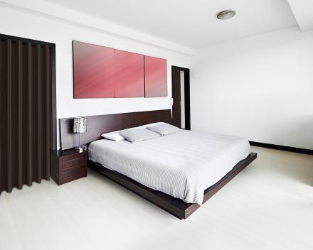 Photo_Porte pliante Aporta_chambre à coucher