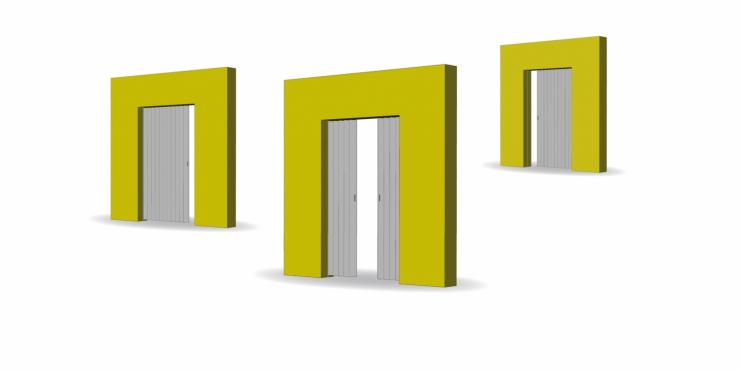 Types vouwdeuren